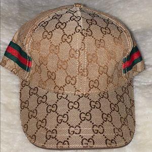 Gucci unisex khaki cap